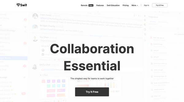 Platforms, bundling, and kill zones & Design collaboration made easy