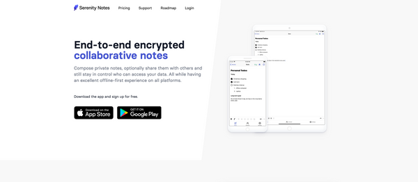 Avoiding Bad Decisions & End-to-end encrypted notes